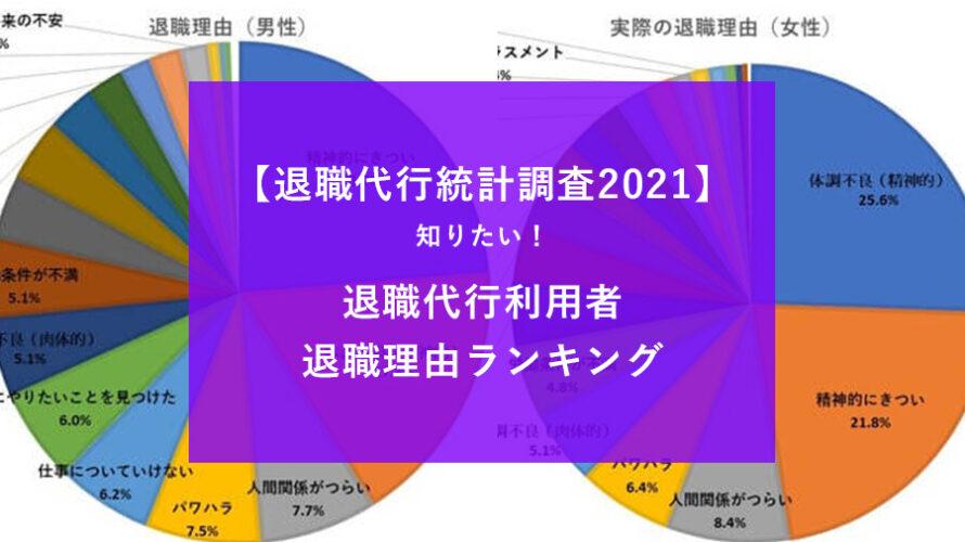 統計退職理由2021